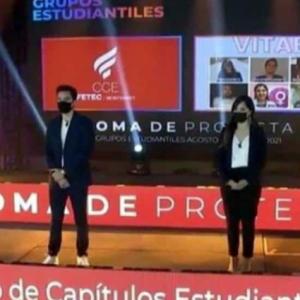 Comunidad estudiantil protesta contra Vitae, grupo anti derechos del Tec de Monterrey